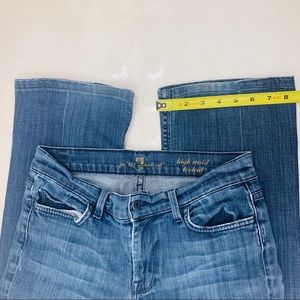 7 For All Mankind Jeans - 7 For All Mankind jeans high waist bootcut 29x29